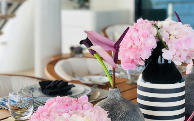 Pretty in Pink Tablescapes